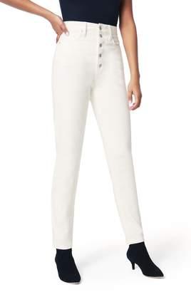 Joe's Jeans x WeWoreWhat The Danielle High Waist Slim Jeans