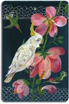 Avenida Home - Nathalie Lété - Antique Cutting Board - White Parrot