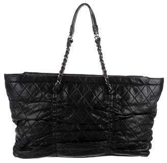 Chanel Quilted Lambskin Sharpei Tote