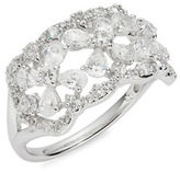 Nadri Cubic Zirconia Pave Accented Ring