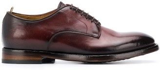 Officine Creative patent derby shoes