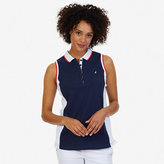 Nautica Colorblock Sleeveless Polo Shirt