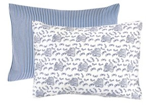 Touched by Nature Baby Girls and Boys Elephant Pillowcase