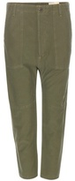 Citizens of Humanity Sadi Cropped Cotton Trousers