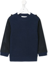 Stella McCartney crew neck waffle sweater