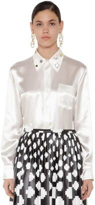 Marni Satin Studs Embellished Shirt