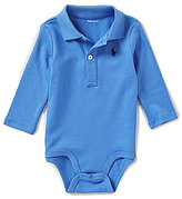 Ralph Lauren Baby Boys 3-12 Months Long-Sleeve Polo Bodysuit