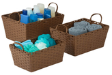 Honey-Can-Do Woven Baskets (Set of 3)