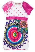 Desigual Girl's Brazzaville Dress,(Manufacturer Size:13/14)