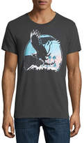 Sol Angeles Sunset Eagle Crewneck T-Shirt