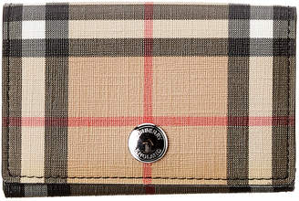 Burberry Lark Small Vintage Check Continental Wallet