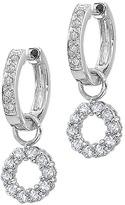 KC Designs Diamond Circle-Charm Earrings