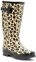 Godiva Leopard Rubber Boot