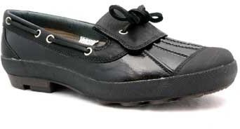 "UGG Ashdale"" Black Patent Duck Shoe"