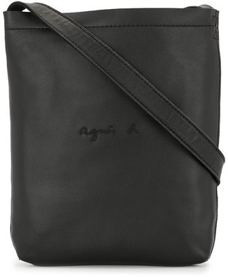 agnès b. Logo Messenger Bag
