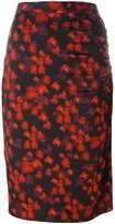 Givenchy abstract print skirt