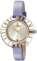 Vivienne Westwood Women's VV032PP Clarity Purple Watch