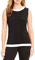 IC Collection Contrast Trim Bateau Neck Tank