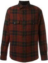 Alexander McQueen tartan shirt