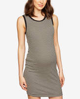 Splendid Maternity Striped Sheath Dress