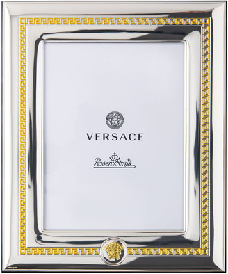 """Versace Silver & Gold Frame, 6"""" x 7.75"""""""