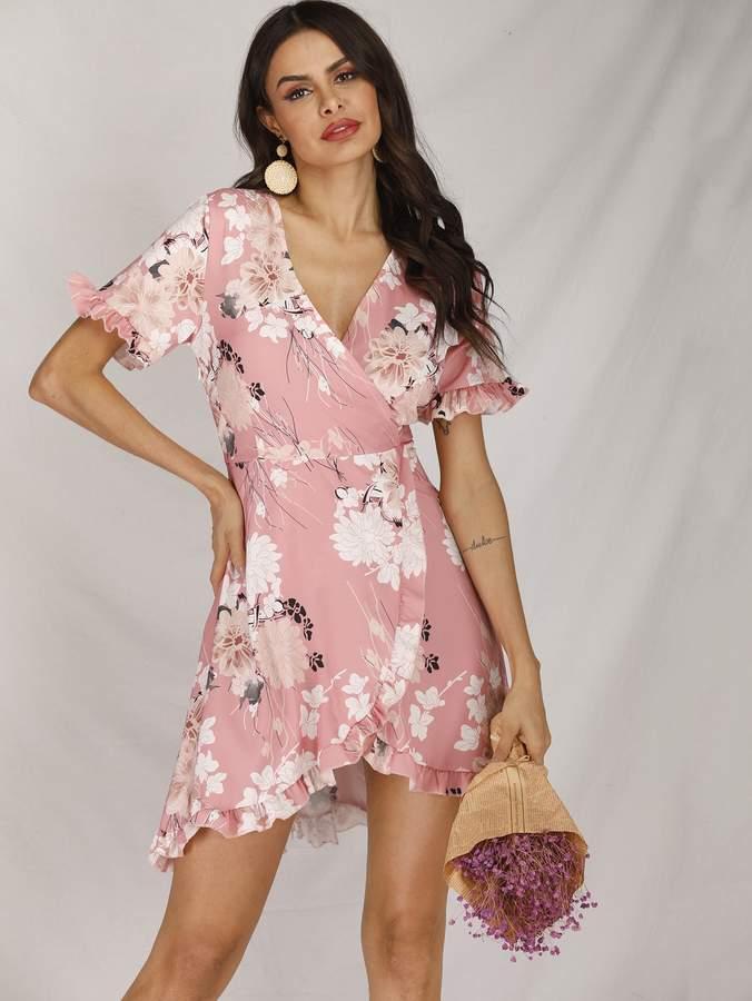 d1f05413a8 Shein Pink A Line Dresses - ShopStyle