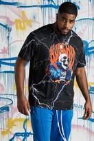 Big & Tall Quavo Skull Lightening T-Shirt