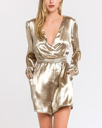 Express Endless Rose Gold Romper
