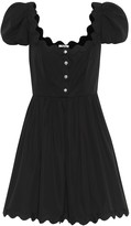 Miu Miu Embellished cotton minidress