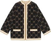 Gucci GG Supreme intarsia knit jacket