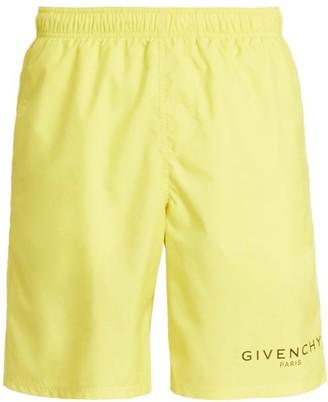 Givenchy Contrast Logo Swim Trunks