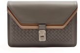 Bottega Veneta Triple-flap intrecciato leather document holder