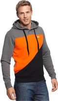 Lacoste Big and Tall Hoodie, Colorblock Pullover Hoodie