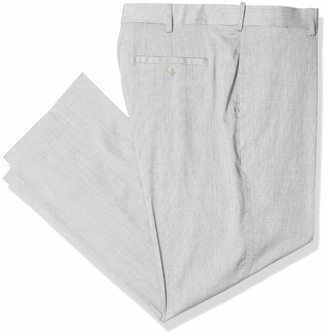 Savane Men's Flat Front Performance Linen Pant