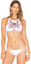 SOAH Evan Bikini Top in White