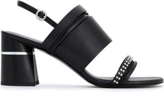 3.1 Phillip Lim Drum Studded Leather Slingback Sandals