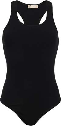 Michael Kors Ribbed-knit Bodysuit