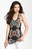 Free People 'Flower Power' Crochet Back Tank