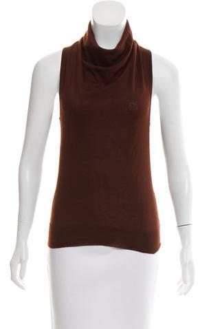 Hermes Cashmere Sleeveless Top