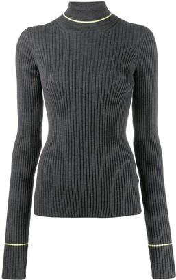 Maison Margiela Ribbed Roll Neck Sweater