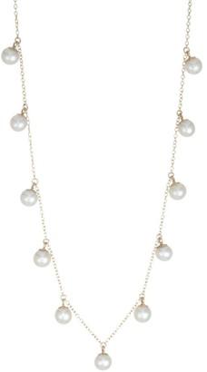 Zoë Chicco 4MM Pearl Pendant Choker Necklace