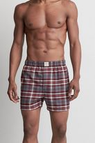 American Eagle Outfitters AE Plaid Flannel Boxer
