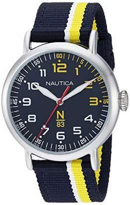 Nautica N83 Men's NAPWLS907 Wakeland Fabric Strap Watch