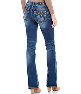 Miss Me Low-Rise Bootcut Denim Jeans