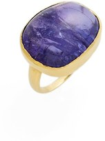 Pippa Small Women's Tumbled Tanzanite Greek Ring