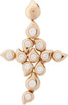 Tamara Comolli Diamond Snowflake Cross Pendant