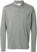 Officine Generale long sleeve polo shirt