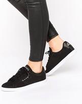 Le Coq Sportif Black Nubuck Agate Lo Sneakers