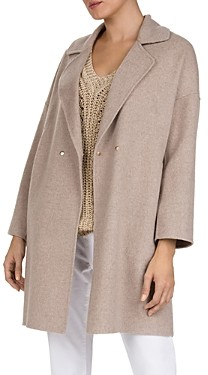 Gerard Darel Double-Breasted Wool Coat