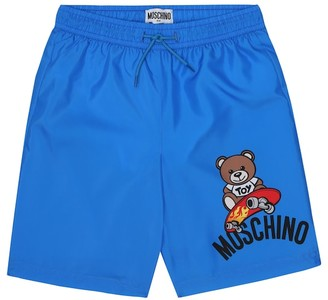 MOSCHINO BAMBINO Printed swim trunks
